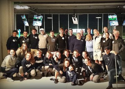 CFL Chapter Hosts PSU Tennis at Drive Shack - 2019