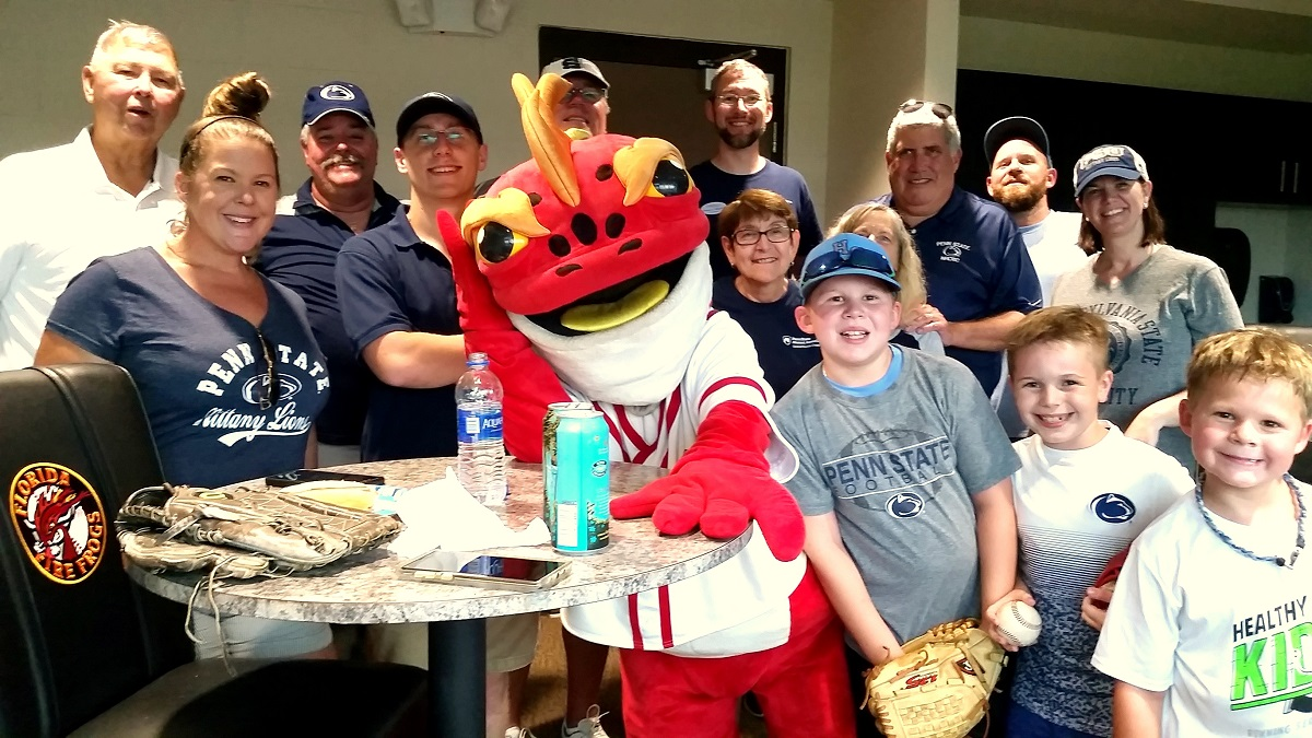 CFL Chapter Picnic at Florida Fire Frogs Baseball, Picture 1 - 2019