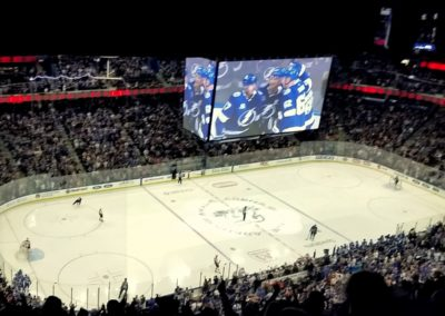 CFL Joins Tampa for Tampa Bay Lightning Hockey, Picture 1 - 2018