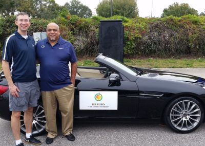 CFLC President with Lee Rubin in Citrus Bowl Parade, Picture 1 - 2018