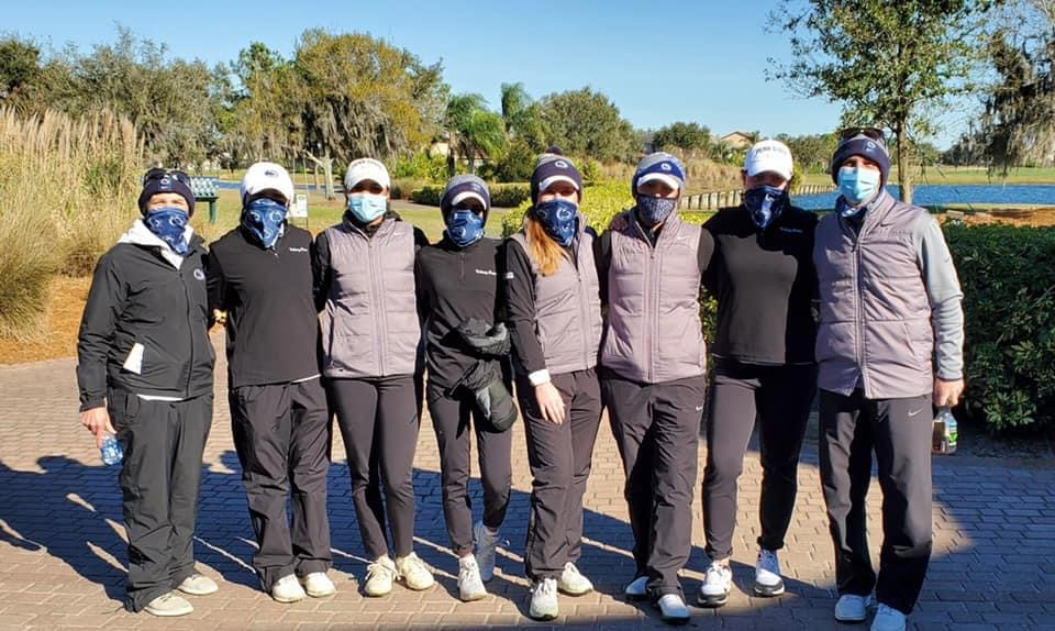 PSU Women's Golf Team - Group Photo